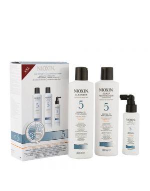 Nioxin - System Full Kit 5 - Cleanser 300ml, Revitaliser 300ml, Scalp Treatment 100ml