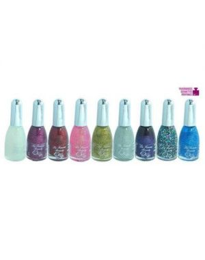 La Femme - Nail Paint - Set Of 9 - Tray 1 - Pink to Clear Colours