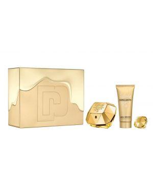 Paco Rabanne - Lady Million Gift Set 80ml EDP + 100ml Body Lotion + 5ml Mini EDP