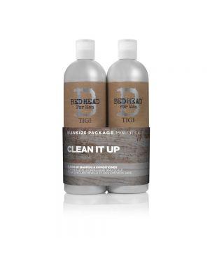 TIGI - Bed Head - Clean Up Shampoo & Conditioner Tween x 750ml