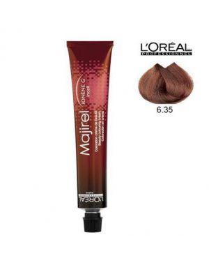 L'Oreal - Majirel - Dark Gold Mahogany Blonde 6.35 50ml