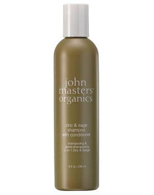 John Masters - Organics Zinc & Sage Shampoo With Conditioner 236ml