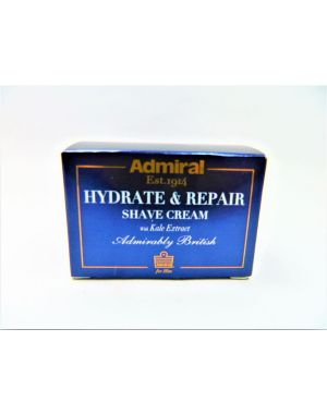 Admiral Hydrate and Repair Shaving Cream with Kale Extract