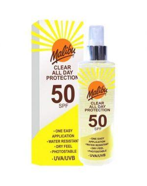 Malibu - Clear All Day Protection SPF50 Spray 250ml