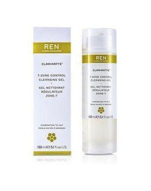 Ren - Clarimatte T-Zone Control Cleansing Gel 150ml