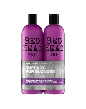 TIGI - Bed Head - Dumb Blonde Shampoo & Conditioner Tween x 750ml