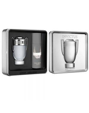 Paco Rabanne - Invictus M EDT 100ml + Deodorant Spray 150ml