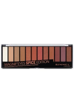 Rimmel - Magnif'Eyes 12 Pan Eyeshadow Palette - Spice Edition 14g