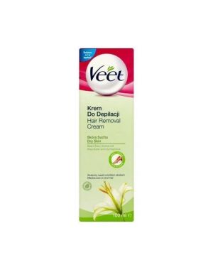 Veet - Depilatory Cream With Shea Butter For Dry Skin 100ml