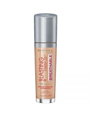 Rimmel - Lasting Finish - Breathable Foundation 30ml - True Ivory 103