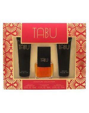 Dana - Tabu Gift Set 35ml EDC + 75ml Body Lotion + 75ml Body Wash