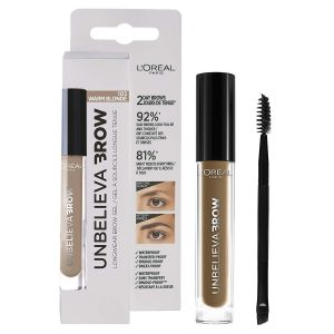 L'Oreal - Unbelieva Brow Long Lasting Brow Gel - 103 Warm Blonde
