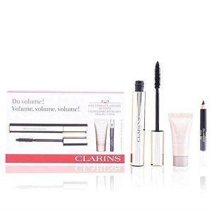 Clarins - Mascara Supra Volume 01 Intense Black + Crayon 01 Carbon Black + Instant Concealer 02 Medium