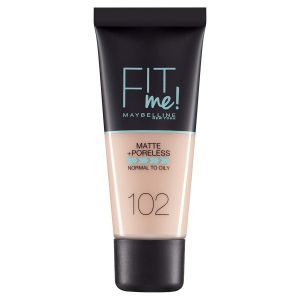 Maybelline - Fit Me Matte + Poreless Foundation 30ml - 102 Fair Ivory