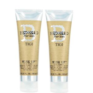 TIGI - Bed Head For Men - Wise Up Scalp Shampoo 250ml x Pack of 2