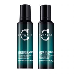 TIGI - Catwalk - Strong Hold Mousse Fixation Forte 200ml x Pack of 2