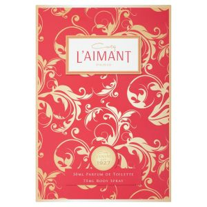 Coty - L'aimant F Gift Set 30ml  Perfum De Toilette + 75ml Body Spray