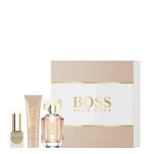 Hugo Boss - The Scent For Her Gift Set 30ml EDP + 50ml Body Lotion + 4.5ml Nail Polish