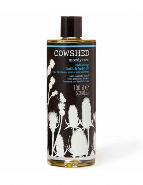 Cowshed - Moody Cow Balancing Bath & Body Oil 100ml
