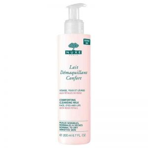 Nuxe - Cleansing Milk With Rose Petals Pump Action Bottle 200ml
