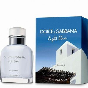 Dolce & Gabbana (D&G) - Light Blue Stromboli EDT 75ml Spray For Men
