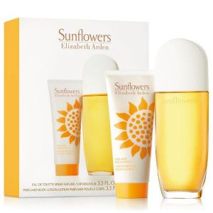 Elizabeth Arden - Sunflowers F EDT 100ml Spray + 100ml Body Lotion