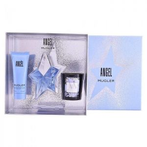 Thierry Mugler - Angel Refillable EDP 25ml + Body Lotion 50ml + Candle 70g
