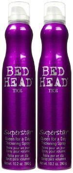 TIGI - Bedhead - Superstar Queen For A Day Thickening Spray 300ml x Pack of 2