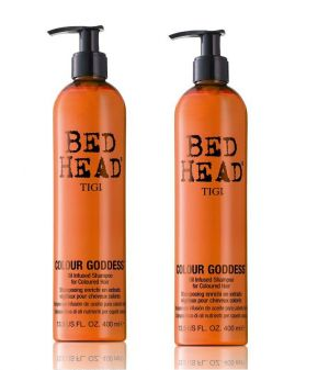 TIGI - Bed Head - Colour Goddess Shampoo 400ml x Pack of 2