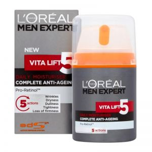 L'Oreal - Men Expert Vita Lift 5 Complete Daily Moisturiser 50ml