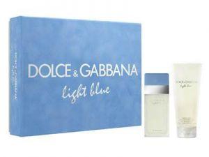 Dolce & Gabanna (D&G) - Light Blue F EDT 25ml Spray + 50ml Body Cream