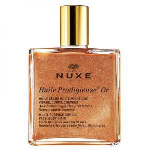 Nuxe - Huile Prodigieuse Golden Shimmer Multi Purpose Usage Dry Oil 50ml