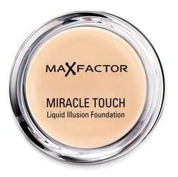 Max Factor - Miracle Touch - Liquid Illusion Foundation - Cream Ivory 40