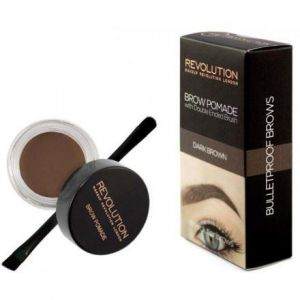 Makeup Revolution - Brow Pomade - Dark Brown