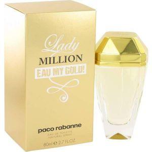 Paco Rabanne - Lady Million Eau My Gold EDT 80ml Spray For Women