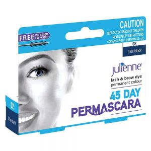 Julienne - Eyelash Eyebrow Tint Dye - Blue Black