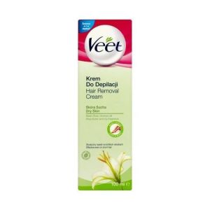 Veet - Depilatory Cream With Shea Butter For Dry Skin 100ml