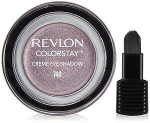 Revlon - Colorstay Creme Eye Shadow - 740 Black Currant