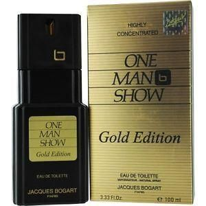 Jacques Bogart - One Man Show Gold Edition EDT 100ml Spray For Men