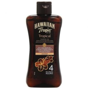 Hawaiian Tropic - Tanning Oil SPF4 Rich 200ml