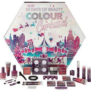Q-KI - 24 Days Of Beauty - Colour Carousel Advent Calendar