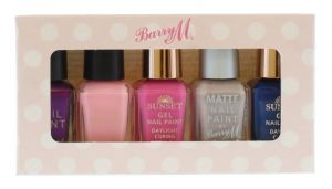 Barry M - Nail Polish Set Of 5 Assourted Colours