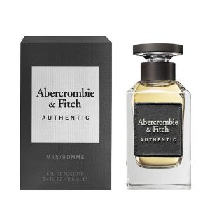 Abercrombie & Fitch - Authentic Man EDT 100ml Spray For Men