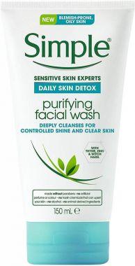 Simple - Daily Skin Detox - Purifying Facial Wash 150ml