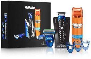 Gillette - Men Fusion Proglide Styler 6 Pieces Gift Set