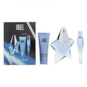 Thierry Mugler - Angel EDP 50ml + EDP 10ml + Perfuming Body Lotion 50ml