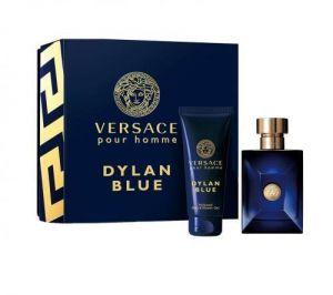 Versace - Dylan Blue  Pour Homme Gift Set EDT 100ml + Shower Gel 100ml