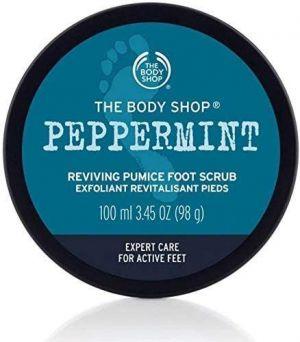 The Body Shop - Peppermint Foot Scrub 100ml