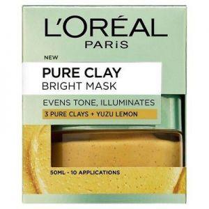 L'Oreal - Pure Clay Bright Face Mask 50ml