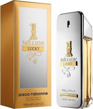 Paco Rabanne - 1 Million Lucky EDT 100ml Spray For Men